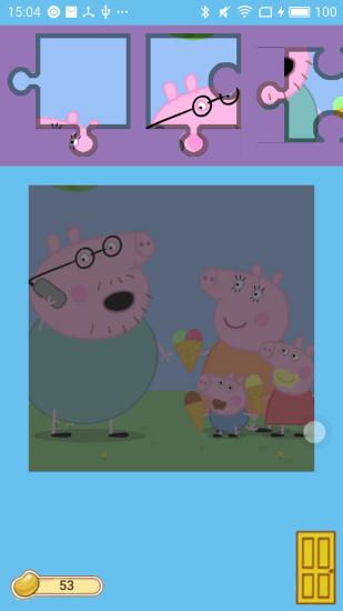 小猪佩奇拼图中级版